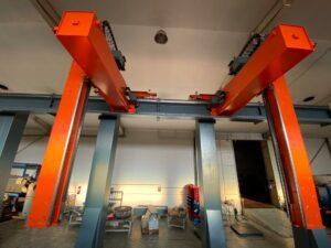 Robot gantry system